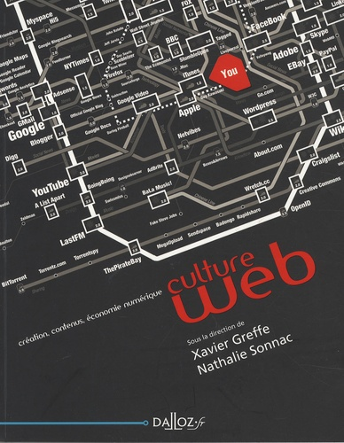 Xavier Greffe et Nathalie Sonnac - Culture Web - Création, contenus, économie numérique.