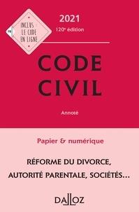 Xavier Henry et Pascal Ancel - Code civil 2021, annoté - 120e ed..