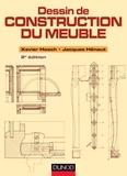 Xavier Hosch et Jacques Hénaut - Dessin de construction du meuble - 2e ed..