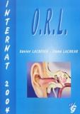 Xavier Lachiver et Ilana Lachkar - ORL - Internat 2004.
