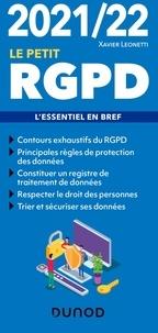 Xavier Leonetti - Le petit RGPD - L'essentiel en bref.