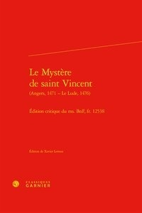 Xavier Leroux - Le Mystère de saint Vincent.