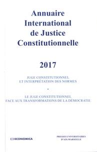 Annuaire international de justice constitutionnelle - Tome 33.pdf