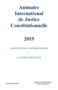 Xavier Magnon - Annuaire international de justice constitutionnelle - Tome 35.