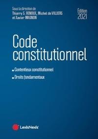 Xavier Magnon et Thierry-Serge Renoux - Code constitutionnel.
