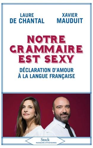 Notre grammaire est sexy. Déclaration d'amour à la langue française