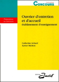 Xavier Michon et Catherine Achard - .