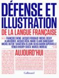 Xavier North et Jean-Pierre Siméon - Défense et illustration de la langue française aujourd'hui.