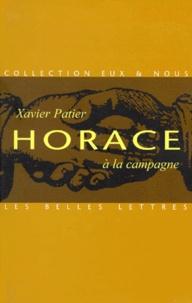 Xavier Patier - Horace à la campagne.