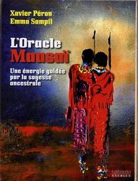 Xavier Péron et Emma Sampil - Coffret l'Oracle Masaï - Une énergie guidée par la sagesse ancestrale. Contient 1 livre et 52 cartes.