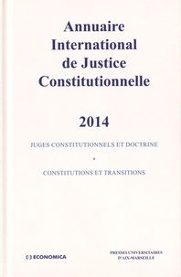 Xavier Philippe - Annuaire international de justice constitutionnelle - Tome 30.