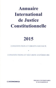 Xavier Philippe - Annuaire international de justice constitutionnelle - Tome 31.