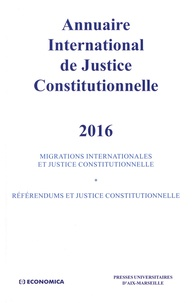 Xavier Philippe - Annuaire international de justice constitutionnelle - Tome 32.
