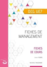 Xavier Picard - Fiches de management DCG UE7 - Fiches de cours.
