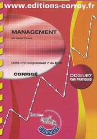 Xavier Picard - Management DCG 7 - Corrigé.