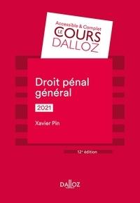 Xavier Pin - Droit pénal général 2021 - 12e ed..
