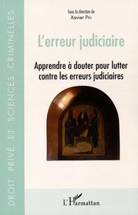 Accentsonline.fr L'erreur judiciaire - Apprendre à douter pour lutter contre les erreurs judiciaires Image