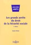 Xavier Prétot - Les grands arrêts du Droit de la Sécurité sociale.