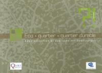 Deedr.fr Eco + quartier = quartier durable - Sensibilisation et approche méthodologique Image