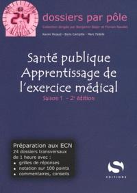 Xavier Ricaud et Boris Campillo - Santé publique Apprentissage de l'exercice médical.