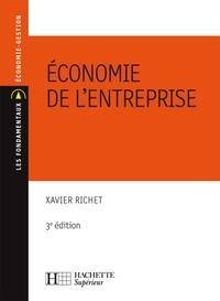 Xavier Richet - Economie de l'Entreprise - 3e édition.