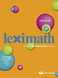 Xavier Roegiers - Leximath.
