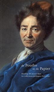 Xavier Salmon - De Poudre et de Papier - Florilège de pastels dans les collections publiques françaises.