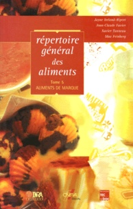 Birrascarampola.it REPERTOIRE GENERAL DES ALIMENTS. Tome 5, Aliments de marque Image