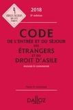Xavier Vandendriessche et Zéhina Ait-El-Kadi - Code de l'entrée et du séjour des étrangers et du droit d'asile annoté et commenté.