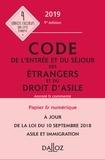 Xavier Vandendriessche - Code de l'entrée et du séjour des étrangers et du droit d'asile.