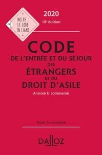 Xavier Vandendriessche - Code de l'entrée et du séjour des étrangers et du droit d'asile - Annoté et commenté.