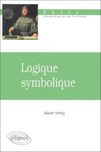 Xavier Verley - Logique symbolique.
