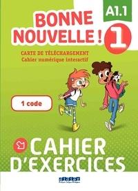 XXX - Bonne nouvelle ! - Niv.1 -  Carte de téléchargement - Cahier interactif - Elève.