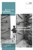 XXX - Bulletin de litterature ecclesiastique n 477 - janvier - mars 2019 - esperance et immortalite.