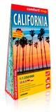 XXX - Californie (ang) 1/1m250 (carte grand format lamin - Californieang11m250carteg.
