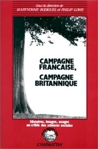 XXX - Campagne francaise, campagne britannique.