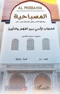 XXX - Discours littéraire entre compréhension et interprétation - (en arabe).
