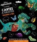 XXX - DISNEY ANIMAUX - Pochette Les Ateliers - Cartes à gratter - Trompe-l'oeil.