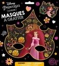 XXX - DISNEY PRINCESSES - Pochette Les Ateliers - Masques à gratter.