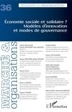 XXX - Economie sociale et solidaire ? Modèles d'innovation et modes de gouvernance - 36.