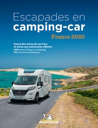 XXX - Escapades en Camping-car France. 1 Plan détachable