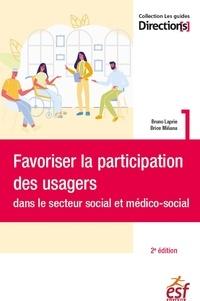 XXX - Favoriser la participation des usagers dans le secteur social et médico-social.