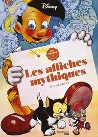 XXX - Grand bloc Disney Les affiches mythiques à colorier.
