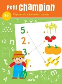 XXX - J'apprends à écrire et compter 5+.