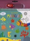 XXX - Je colorie avec de l'eau - Sous l'eau.
