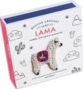 XXX - Kit broche tête de silhouette lama.