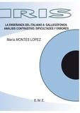 XXX - La ensenanza del italiano a gallegofonos - Analisis contrastivo, difficultades y errores.
