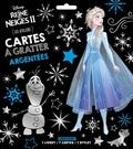 XXX - LA REINE DES NEIGES 2 - Pochette les Ateliers - Cartes à gratter argentées.