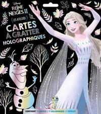 XXX - LA REINE DES NEIGES 2 - Pochette Les Ateliers - Cartes à gratter holographiques - Disney.