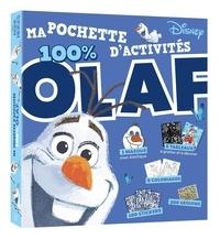 XXX - LA REINE DES NEIGES - Ma pochette d'activités - 100 % Olaf - Disney.